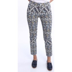 Abbigliamento Donna Chino Tory Burch JEANS  DA DONNA IN FANTASIA MULTICOLOR Multicoloured