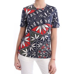 Abbigliamento Donna T-shirt maniche corte Tory Burch T-SHIRT  MEZZA MANICA Blue