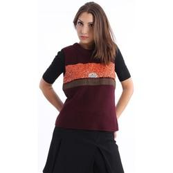 Abbigliamento Donna Gilet / Cardigan Tory Burch GILET BORDEAUX Red