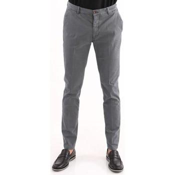 Abbigliamento Uomo Chino Yan Simmon PANTALONE  IN RASO DI COTONE GRIGIO Grey