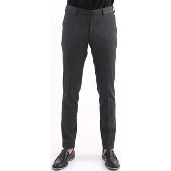 Abbigliamento Uomo Chino Pto5 PANTALONE  IN LANA GRIGIO SCURO Grey