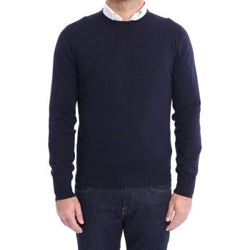 Abbigliamento Uomo Maglioni Malo MAGLIONE  BLU IN CASHMERE Blue