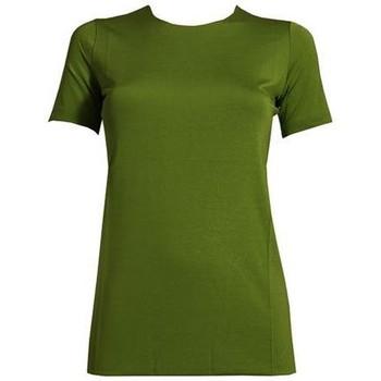 T-shirt maniche corte Etro T-SHIRT DONNA  IN VISCOSA VERDE
