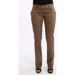 Abbigliamento Donna Pantaloni Lo PANTALONE  IN COTONE MARRONE CHIARO Brown