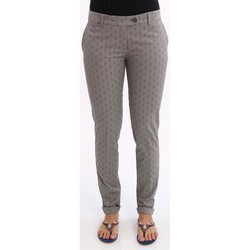 Abbigliamento Donna Chino Lo PANTALONI DONNA  IN COTONE GRIGIO Grey
