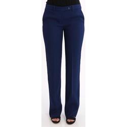 Abbigliamento Donna Pantaloni Lo PANTALONE  IN COTONE BLU ELETTRICO Blue