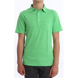 Abbigliamento Uomo Polo maniche corte Les Garcons Faciles POLO  VERDE Green