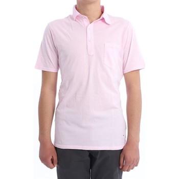 Abbigliamento Uomo Polo maniche corte Les Garcons Faciles POLO  ROSA Pink
