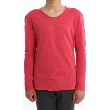 Abbigliamento Uomo T-shirts a maniche lunghe Les Garcons Faciles T-SHIRT  COLOR FRAGOLA Red