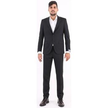 Abbigliamento Uomo Completi Cantarelli ABITO  IN LANA GRIGIO SCURO Grey