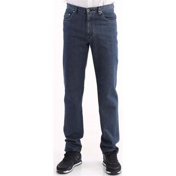 Abbigliamento Uomo Jeans dritti Rota JEANS  BLU LAVAGGIO MEDIO Blue
