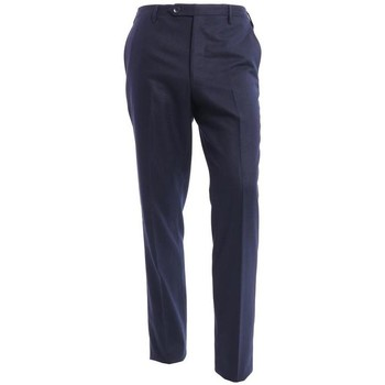Abbigliamento Uomo Chino Rota PANTALONE  BLU IN FLANELLA Blue