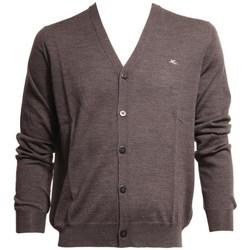 Abbigliamento Uomo Gilet / Cardigan Etro CARDIGAN  GRIGIO IN LANA Grey