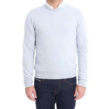 Abbigliamento Uomo Maglioni Malo MAGLIONE  CELESTE IN CASHMERE Blue
