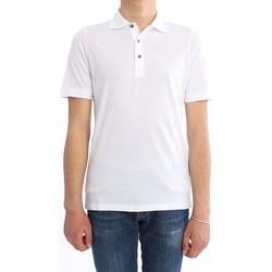 Abbigliamento Uomo Polo maniche corte H953 POLO IN JERSEY BIANCA White