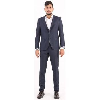 Abbigliamento Uomo Completi Cantarelli ABITO  IN LANA BLU SCURO Blue