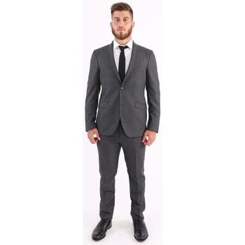 Abbigliamento Uomo Completi Etro ABITO  IN LANA MICRO QUADRETTATO BLU GRIGIO Grey