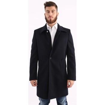 Abbigliamento Uomo Cappotti Schneiders CAPPOTTO  IN LANA BLU Blue