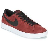 Scarpe Uomo Sneakers basse Nike BLAZER VAPOR LOW SB BORDEAUX / Bianco