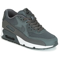 Scarpe Bambino Sneakers basse Nike AIR MAX 90 MESH GRADE SCHOOL Grigio