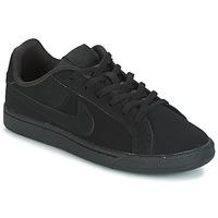 Scarpe Bambino Sneakers basse Nike COURT ROYALE GRADE SCHOOL Nero