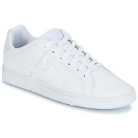 Scarpe Bambino Sneakers basse Nike COURT ROYALE GRADE SCHOOL Bianco