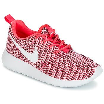 Scarpe Bambina Sneakers basse Nike ROSHE ONE GRADE SCHOOL Rosa / Bianco