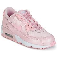 Scarpe Bambina Sneakers basse Nike AIR MAX 90 MESH SE PRESCHOOL Rosa