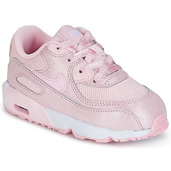 Scarpe Bambina Sneakers basse Nike AIR MAX 90 MESH SE TODDLER Rosa