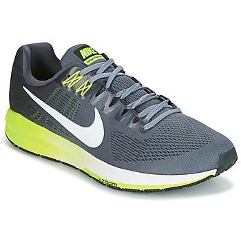 Scarpe Uomo Running / Trail Nike AIR ZOOM STRUCTURE 21 Grigio