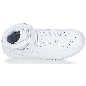 07 Force 1 1 1 Air Nike Mid Pelle Scarpe qXfwR 66d260
