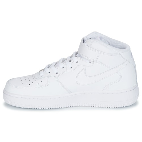 Force Alte Leather Bianco Mid Air 1 Nike Sneakers 07 dCoBerx