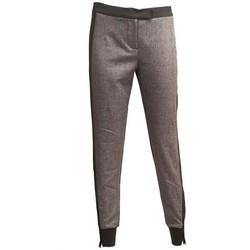 Abbigliamento Donna Pantaloni I'm Isola Marras PANTALONE  GRIGIO E NERO Grey