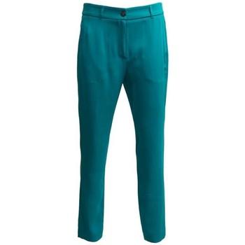 Abbigliamento Donna Pantaloni I'm Isola Marras PANTALONE  OTTANIO Turquoise