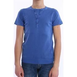 Abbigliamento Uomo T-shirt maniche corte Daniele Fiesoli GILET T-SHIRT AZZURRA Blue