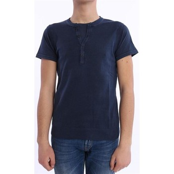 Abbigliamento Uomo T-shirt maniche corte Daniele Fiesoli GILET T-SHIRT BLU Blue