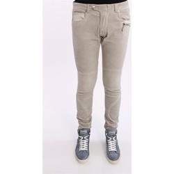 Abbigliamento Uomo Pantaloni Paolo Pecora PANTALONE 5 TASCHE GRIGIO CHIARO Grey
