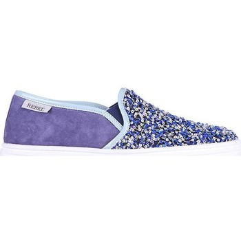 Scarpe Donna Espadrillas Hogan ESPADRILLAS R141 IN CAMOSCIO VIOLA Purple