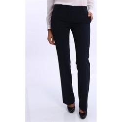 Abbigliamento Donna Pantaloni White.7 PANTALONI ZAMPETTA DONNA  NERO Black