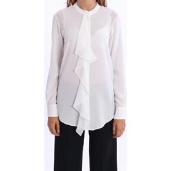 Abbigliamento Donna Camicie White.7 CAMICIA CON ROUGE  COLOR PANNA White
