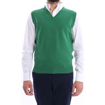 Abbigliamento Uomo Gilet / Cardigan Altea GILET UOMO  VERDE CHIARO IN LANA Green