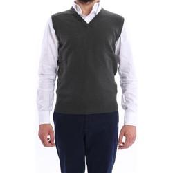 Abbigliamento Uomo Gilet / Cardigan Altea GILET UOMO  VERDE MUSCHIO IN LANA Green