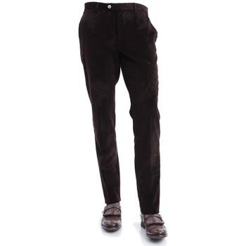 Abbigliamento Uomo Pantaloni 5 tasche Etro PANTALONI UOMO  IN VELLUTO MARRONE Brown