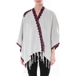 Abbigliamento Donna Maglioni De Fil En Aiguille Poncho Senes  Beige  YM 121 Beige