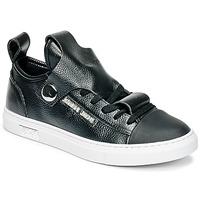 Scarpe Donna Sneakers basse Armani jeans RATONE Nero