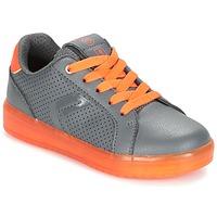 Scarpe Bambino Sneakers basse Geox J KOMMODOR B.B Grigio / Arancio