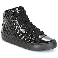 Scarpe Bambina Sneakers alte Geox J KALISPERA G.F Nero