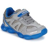 Scarpe Bambino Sneakers basse Geox J MUNFREY B. A Grigio / Blu