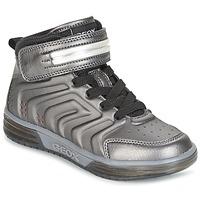 Scarpe Bambino Sneakers alte Geox J ARGONAT B. B Nero