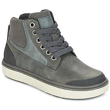 Scarpe Bambino Sneakers alte Geox J MATT.B ABX C Grigio
